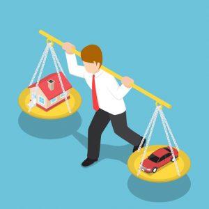 Jelzáloghitel autóvásárlásra a magasabb költségekkel járó személyi kölcsön vagy lízing helyett