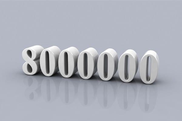 8 millió forint